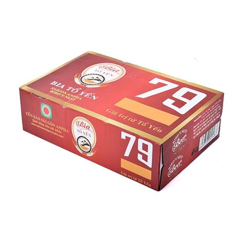 Bia tổ yến (24 lon/thùng) - Yến sào Sài Gòn Anpha