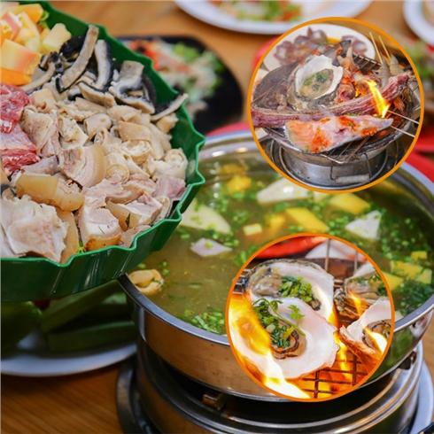 Buffet nướng và lẩu 70 món hải sản - Bò Tơ Tây Ninh Nhân Phát