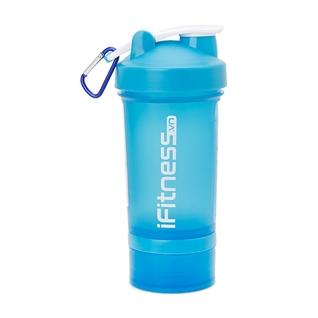 Cùng Mua - Binh lac iFitness Pro Shaker 4 in 1 xanh da troi 600ml