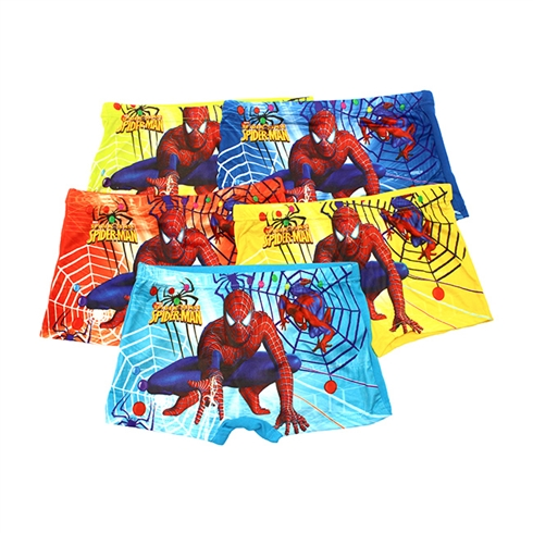 Combo 5 quần đùi brief cho bé trai họa tiết tinh nghịch