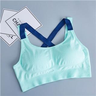 Cùng Mua - Ao tap gym va yoga day dan Seamless xanh ngoc