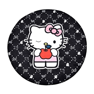 Thảm tròn 3D Hello Kitty DGD7165