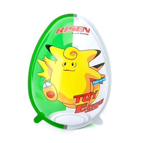 Kẹo Mỹ hình quả trứng Risen fruit candy loại lớn cho bé M1