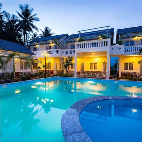 Blue Paradise Resort 2* tại đảo ngọc Phú Quốc 3N2Đ