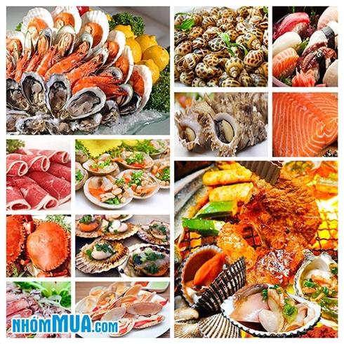 Buffet nướng, lẩu hải sản hơn 100 món - Nhà Hàng TBQ