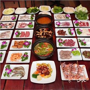 Cùng Mua - Buffet Lau Hai San 35 Mon An Tha Ga, Tha Ho Lua Chon- Dominos