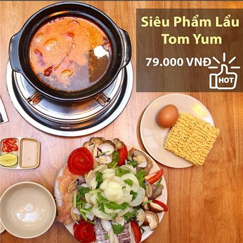 Combo lẩu TomYum + 1 ly trà sữa cho 1 người - Mango Story
