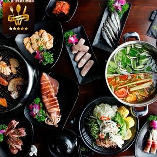 Cùng Mua - An tha ga- Buffet lau+Nuong HQ - A1 Korean BBQ va Hotpot