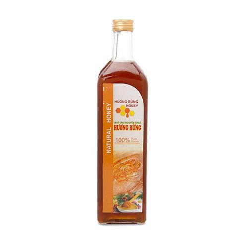 Mật ong nguyên chất Hương Rừng chai 1 lít
