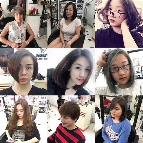 Trọn gói làm tóc với mỹ phẩm L'oreal -Vinh Nguyễn Hair Salon
