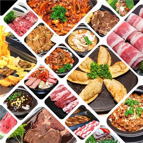 Buffet Nướng - Lẩu tại NH thịt nướng đá Hàn Quốc Black Stone