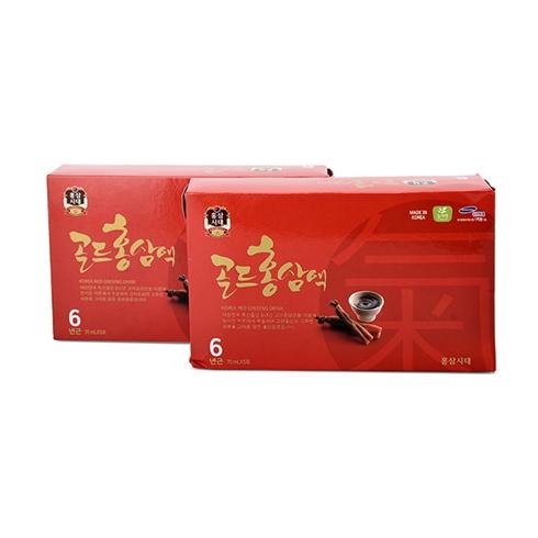 Combo 10 gói nước Hồng Sâm 6 năm tuổi 70ml
