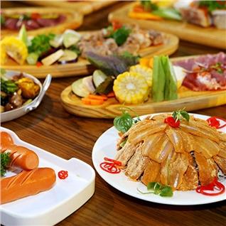 Cùng Mua - Buffet nuong BBQ - beer va nuoc ngot khong gioi han Suon No.1