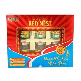 Cùng Mua - 6 hop yen sao nhan sam duong phen Red Nest