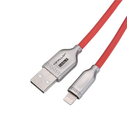Cáp Lightning KONFULON S48 Đỏ