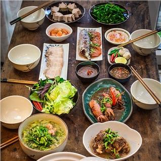 Cùng Mua - Toan menu mon ngon, thuc uong Mien Trung - Co Quyen Xu Quang