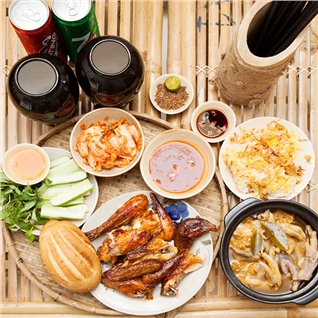 Cùng Mua - Combo Ga nuong cho 2 nguoi no say - Ga Cai Bang