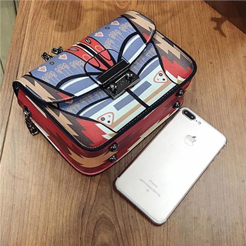 Túi xách xuân hè thời trang 2017 túi chuỗi nhỏ DGD7026