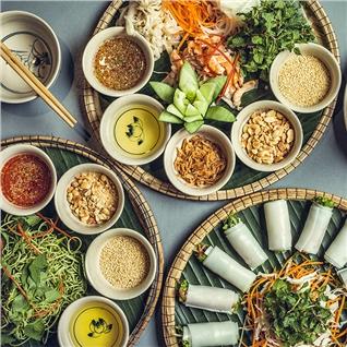 Cùng Mua - Buffet trua hoac toi hon 40 mon tai Nha hang Cho Xua