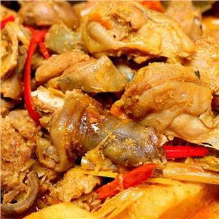 Cùng Mua - Thit tho tuoi uop san (1kg) kem nuoc cham - Kim Phung