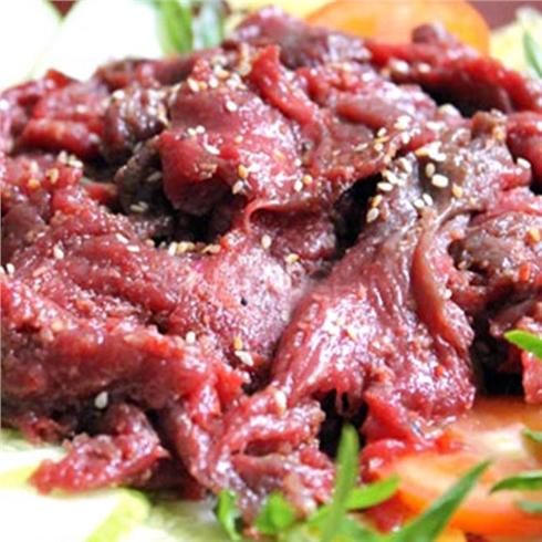 Thịt nai tươi ướp sẵn (1kg) kèm nước chấm - Kim Phụng (HN)