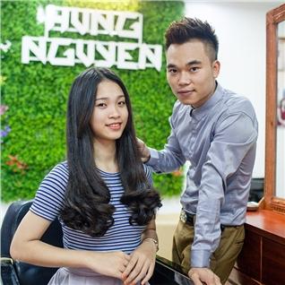 Cùng Mua - Cat + uon/ep/nhuom + 10 lan hap dau tai Salon Hung Nguyen