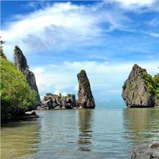Cùng Mua - Tour Ba Lua - Rung Tra Su - Resort Hon Trem chuan 4 sao 2N2D