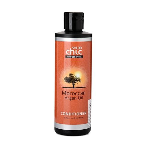 Dầu xả tinh dầu Moroccan Argan Oil Salon Chic NK Anh Quốc