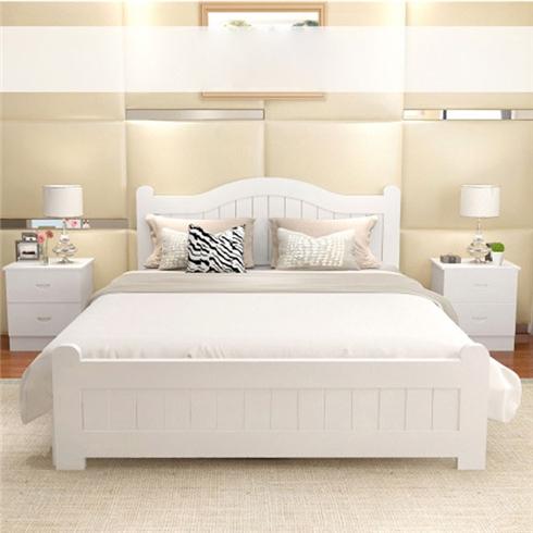 Giường gỗ DADOTA thiết kế hiện đại+tặng 1 tủ đầu giường Oct47