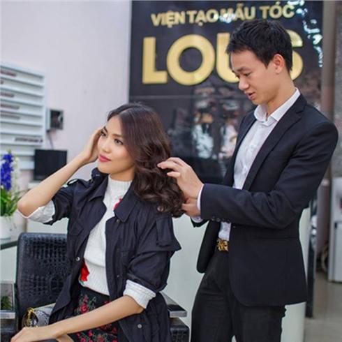Combo Cắt+ Gội+ Nhuộm/Uốn/Ép+ Sấy tạo kiểu -Louis Hair Salon