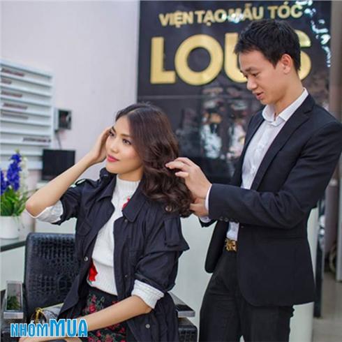 1 trong 3 gói làm tóc L'oreal - viện tóc Louis (có quà tặng)
