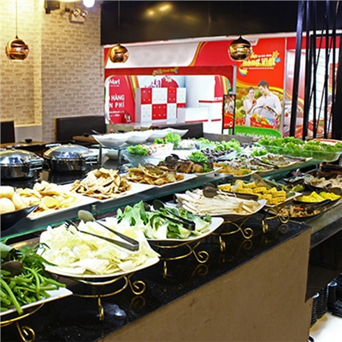 Buffet VIP Nướng và Lẩu ăn thả ga tại Galbi BBQ - Royal City