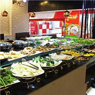 Cùng Mua - Buffet VIP Nuong va Lau an tha ga tai Galbi BBQ - Royal City