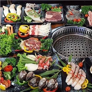 Cùng Mua - Buffet nuong Han Quoc bo My va hai san hap dan - Gabbi BBQ