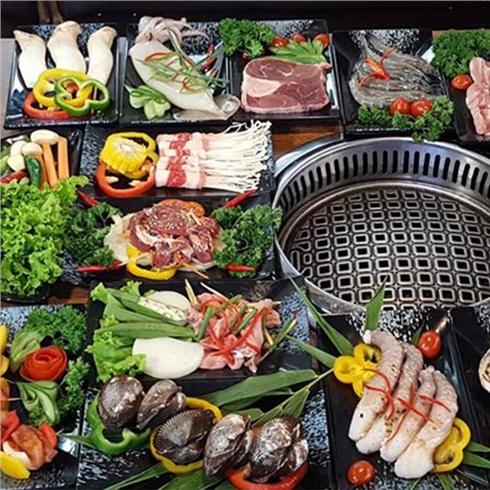 Buffet nướng Hàn Quốc bò Mỹ và hải sản hấp dẫn - Gabbi BBQ