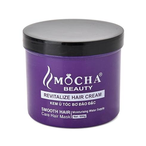 Kem ủ tóc bơ đào Mocha đậm đặc giúp tóc mềm mượt vào nếp