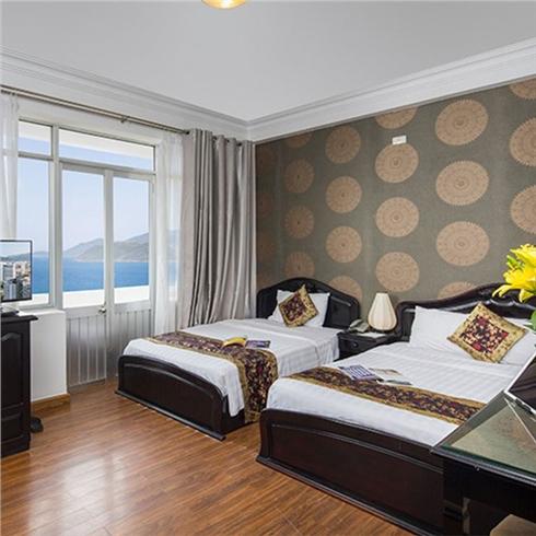 Khách sạn Brandi Ocean View tiêu chuẩn 3* Phố biển Nha Trang