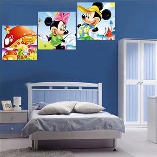 Cùng Mua - Tranh dong ho chuot Mickey