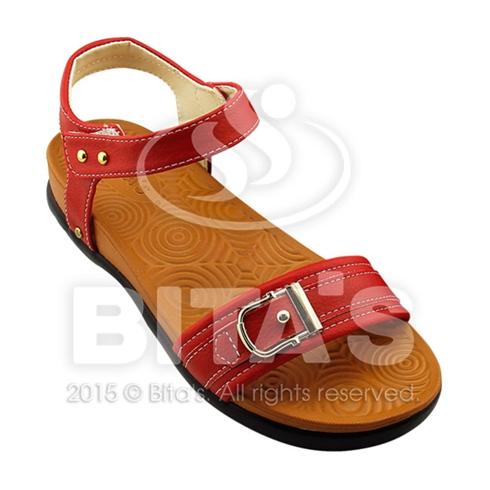 Sandal nữ Bita's trẻ trung cá tính SYN123 màu đỏ