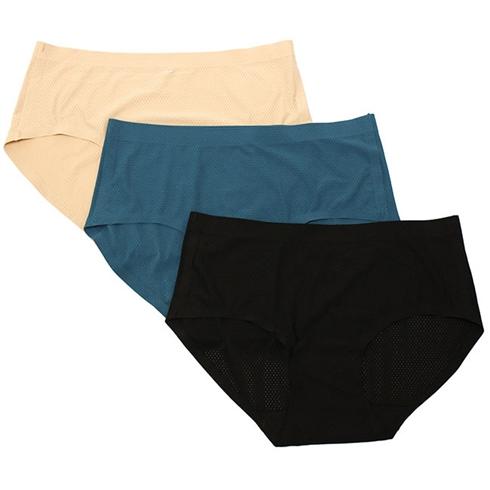Combo 3 quần lót su đúc thông hơi thoáng mát cho nữ