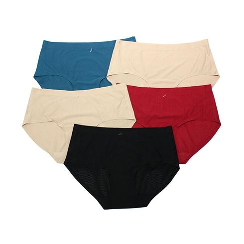 Combo 5 quần lót su đúc thông hơi thoáng mát cho nữ