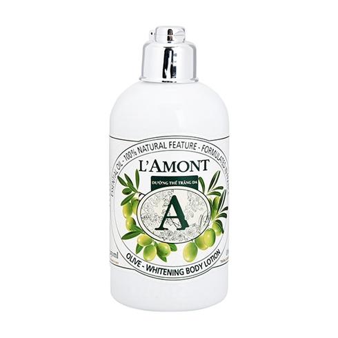 Sữa dưỡng thể trắng da L'amont En Provence Olive
