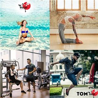 Cùng Mua - Tap Yoga+Dance+Gym+Boi 2 thang tai Tokyo Fitness va Yoga