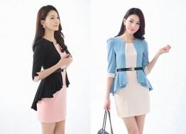 """Đầm công sở Bella kiểu dáng Hàn Quốc:Xu hướng thời trang công sở cực """"hot""""."""