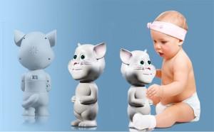 Mèo Tom biết nói:Kích thích trí não và rèn luyện trí thông minh cho bé.