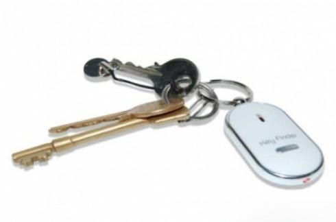 Móc chìa khóa KEY FINDER:Nhỏ, gọn, phát tiếng kêu khi huýt sáo.