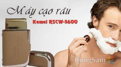 Máy Cạo Râu Kemei RSCW-5600 - Đồ Dùng Cá Nhân