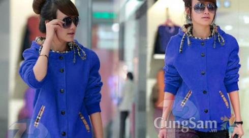 Áo khoác Burberry thời trang