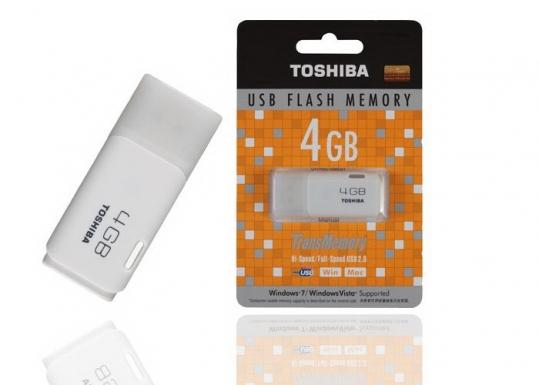 Hot USB TOSHIBA 4GB chính hãng..