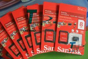 HOT Thẻ nhớ Sandisk 8GB FULL B..
